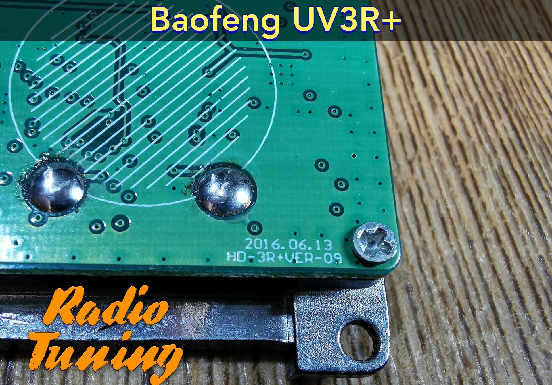 baofeng uv3r+